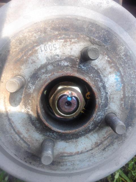 Как заменить шпильки на переднем колесе шевроле круз