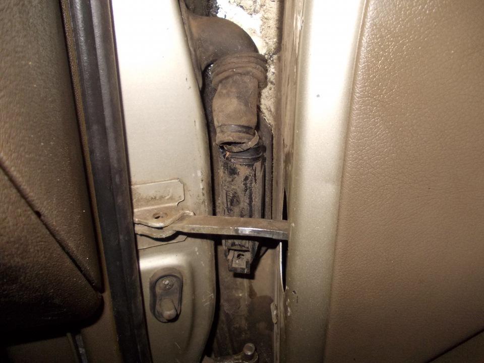 ремонт дверных петель опель сенатор б