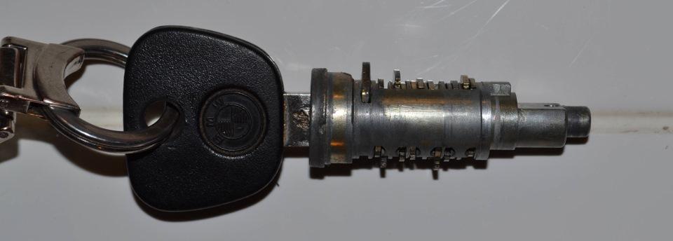 как разобрать ключ от BMW e60