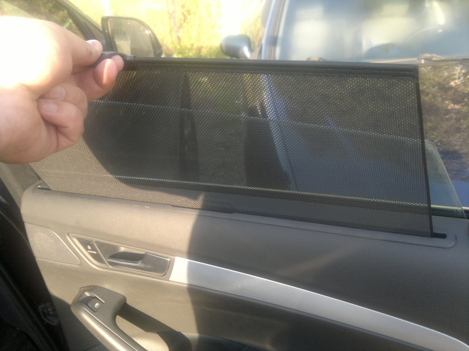 Как сделать шторки в автомобиль своими руками