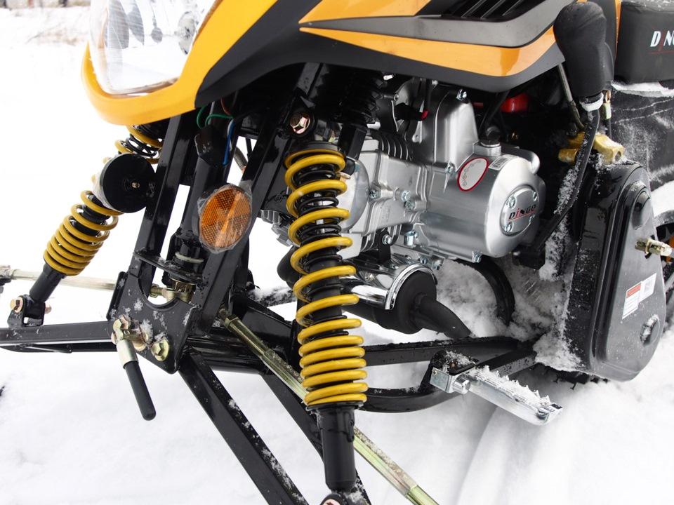 Обзор Irbis Dingo T125 :: Снегоход в багажнике авто :: Часть 1 - DRIVE2