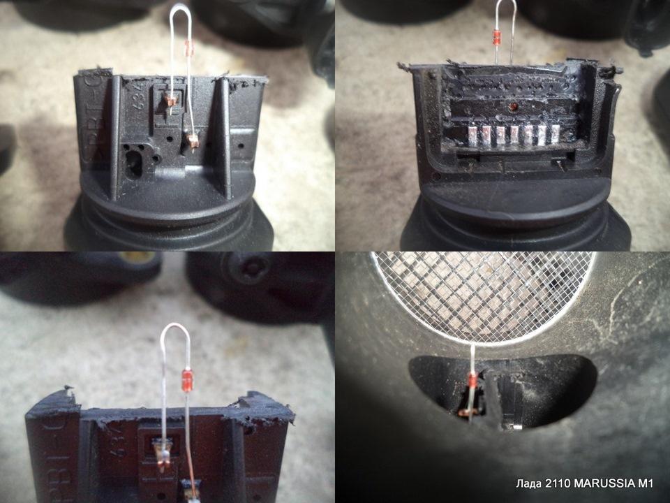 Как заменить датчик дмрв