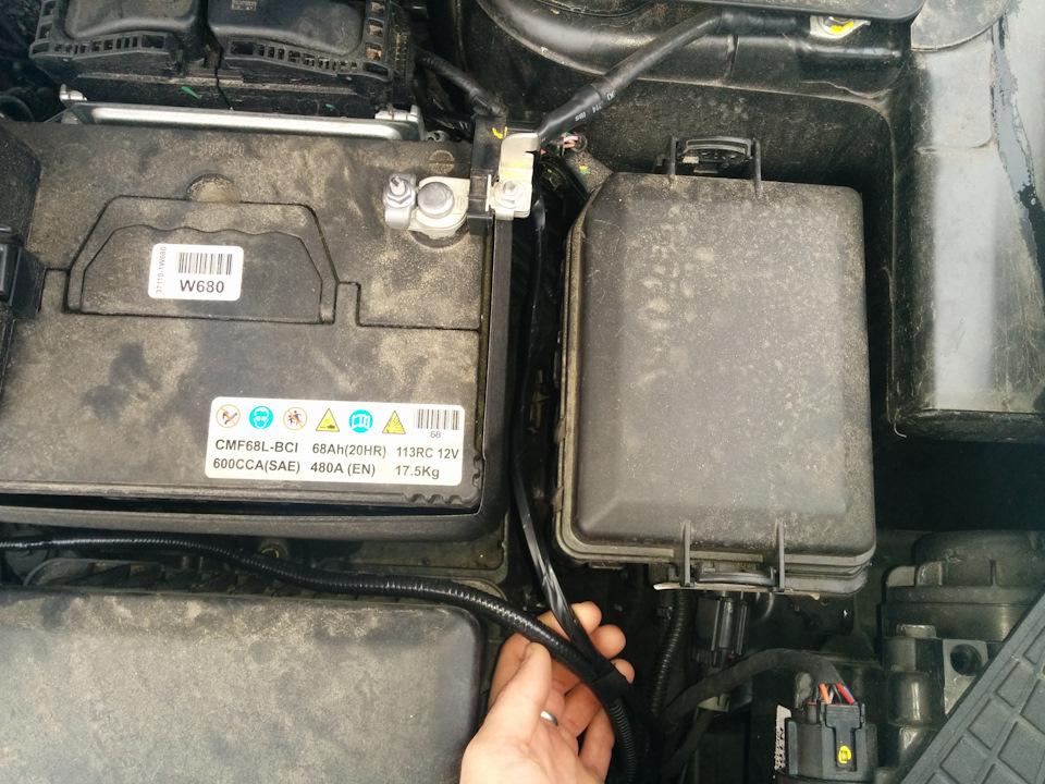 Hyundai Creta 2.0л 6АТ 4WD Com+Adv+Sty › Бортжурнал › Установка сигналов и парктроника в передний бампер