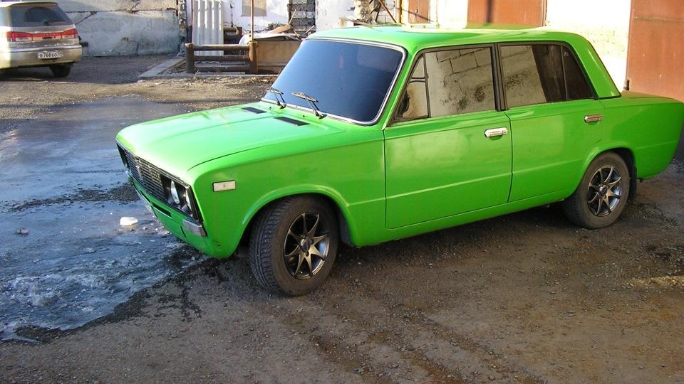 Ваз зеленый машина фото