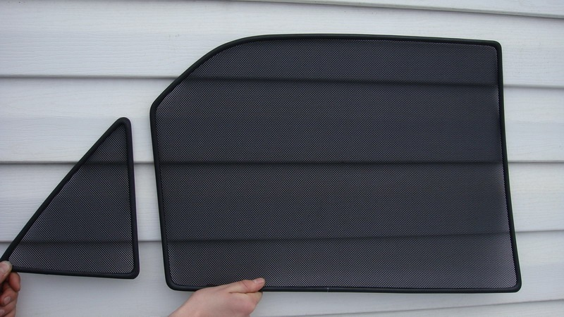 Каркасные сетки на окна автомобиля своими руками