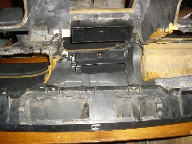 Установка панели Opel Vectra A #1.