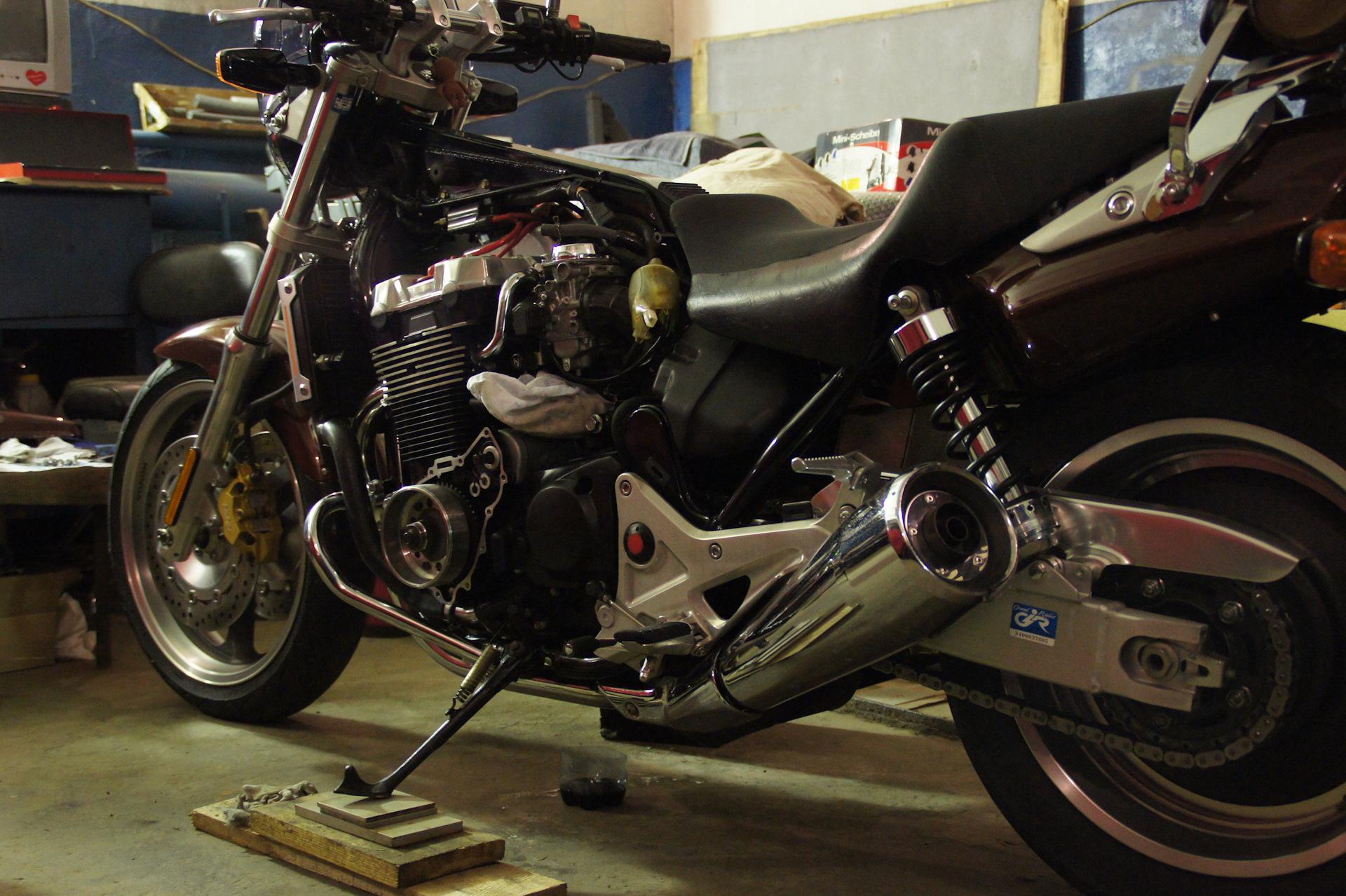 Опыт езды на мотоцикле хонда cb1300 права для мотоцикла подкатегории