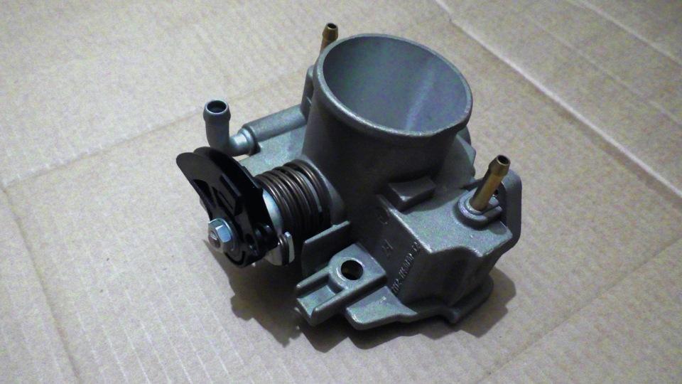 Фото №7 - ВАЗ 2110 инжектор 8 клапанов дроссельная заслонка