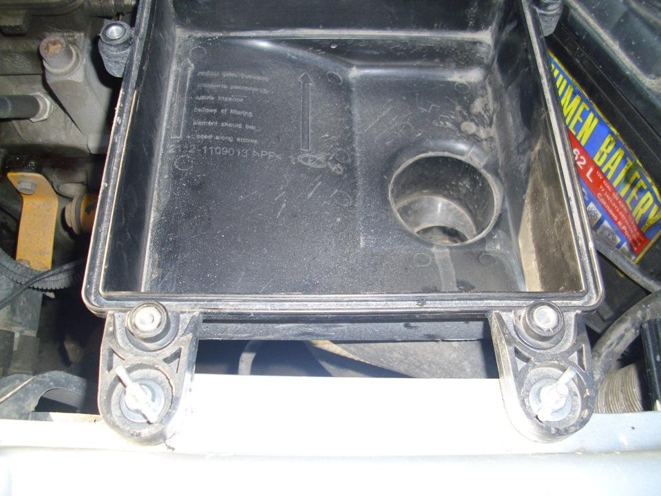 Фото №14 - крепление воздушного фильтра ВАЗ 2110