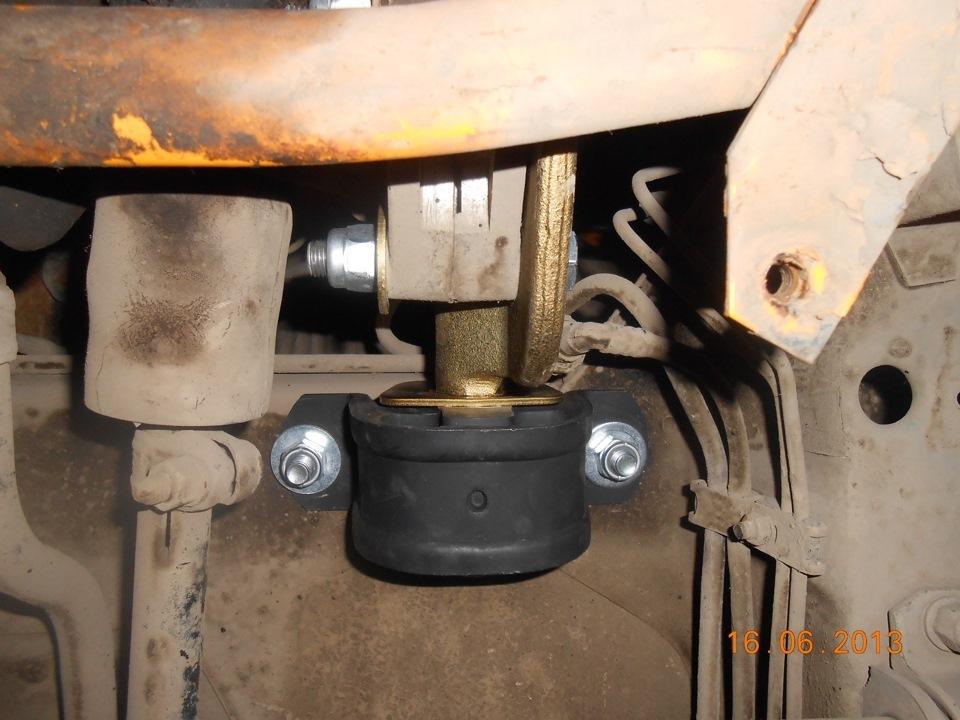 Фото №4 - вибрация по кузову на холостых ВАЗ 2110