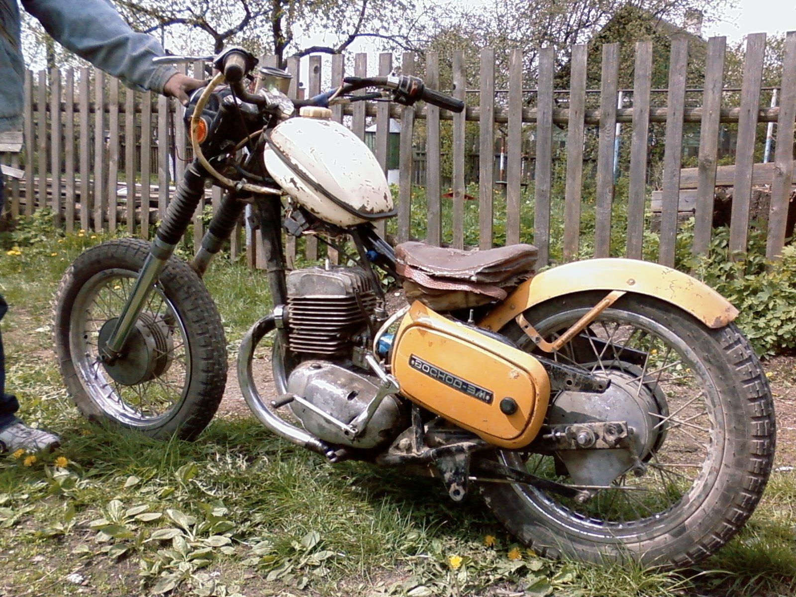 Как сделать мотоцикл восход мощнее