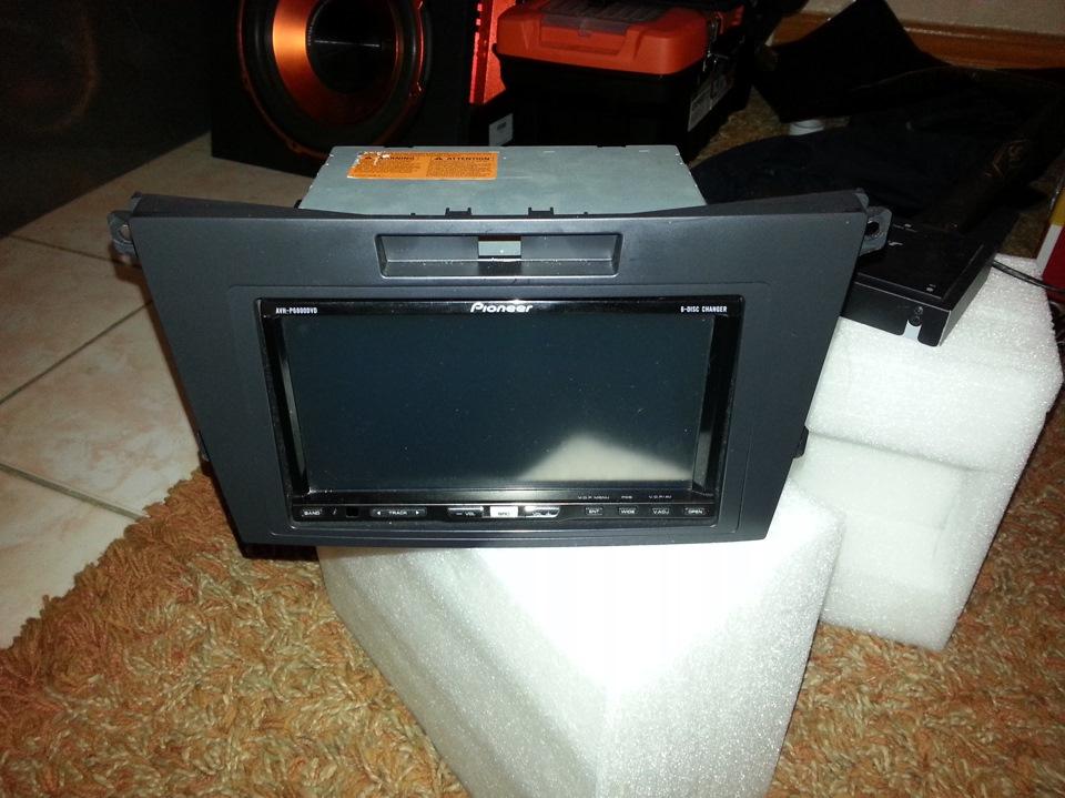 Pioneer AVH-P6800DVD