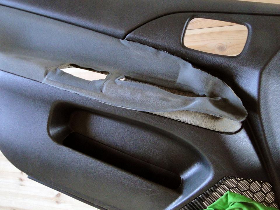 Обивка дверей для автомобиля своими руками