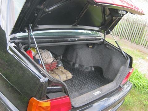 Как сделать багажник на ваз 2115 чтобы держался