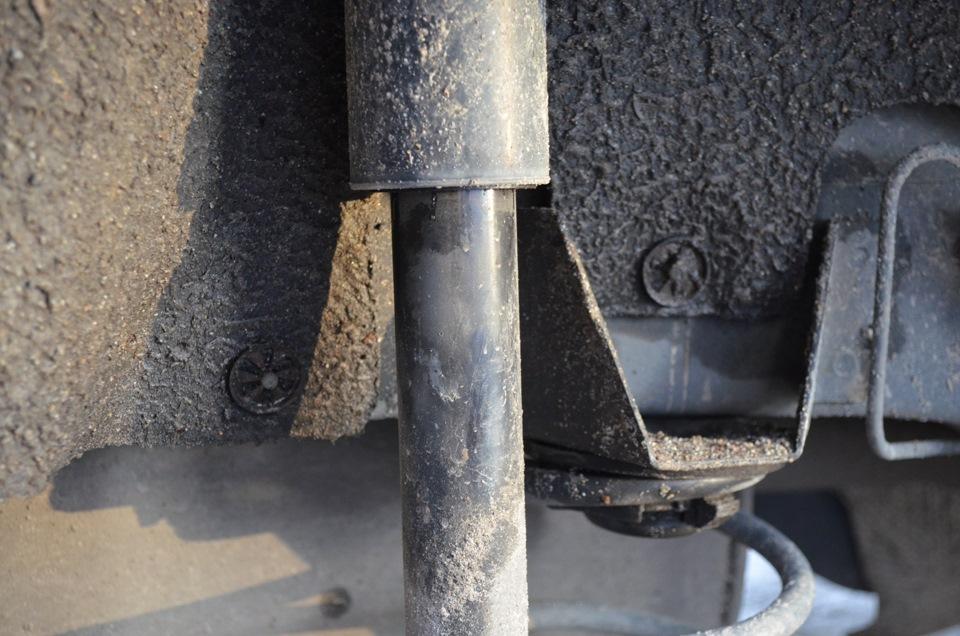 Форд фьюжен замена заднего амортизатора