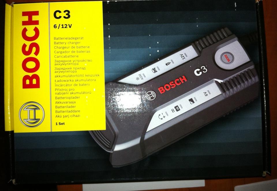 Зарядное устройство bosch c3 инструкция