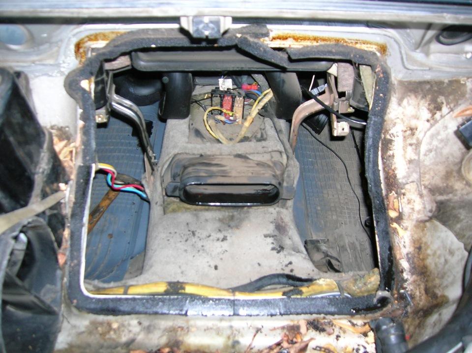 audi 100 c3 ремонт и обслуживание клима печки радиатора