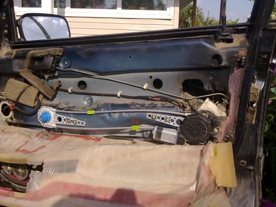 установка электростеклоподъемников в воронеже