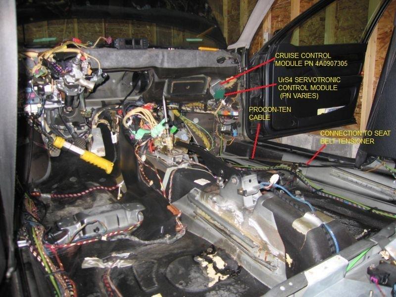 Servotronic в Audi 100/S4