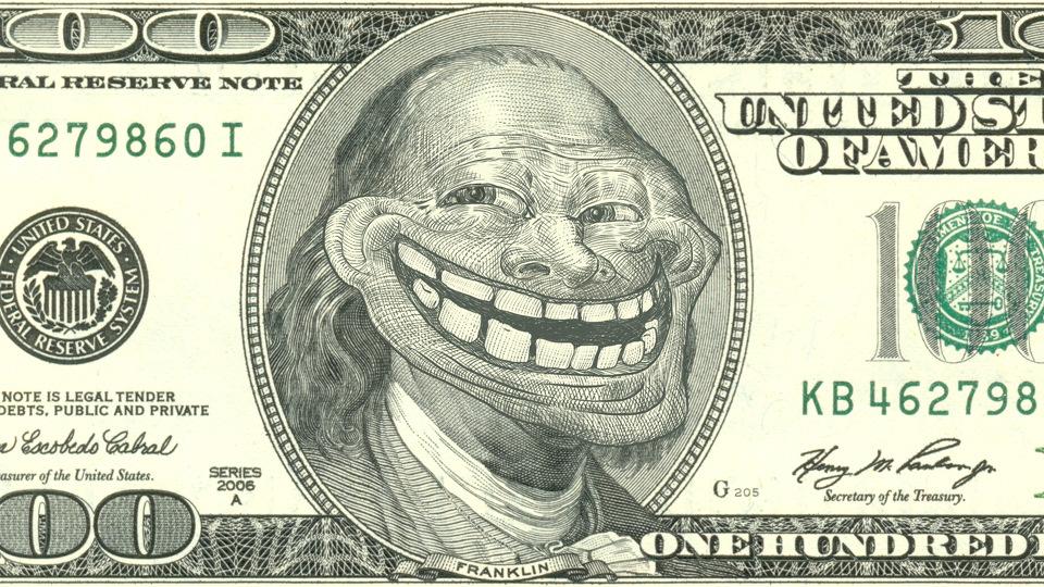 Доллар прикольная картинка