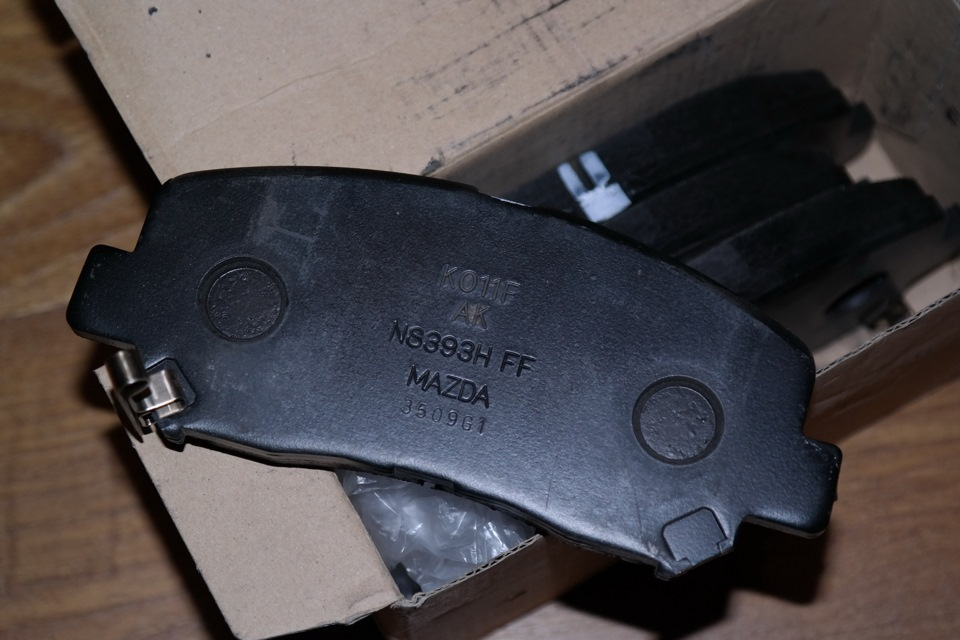 Замена задних тормозных колодок мазда сх 5 своими руками