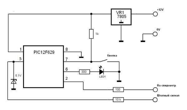 Как сделать подмотку спидометра 384
