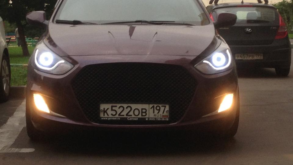 Солярис хэтчбек фиолетовый фото