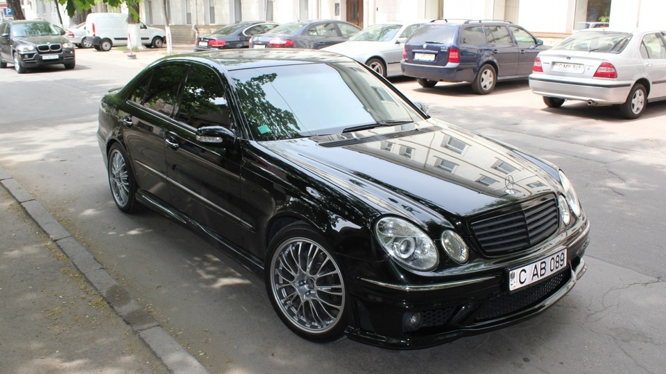 mercedes benz e class w211 amg style drive2. Black Bedroom Furniture Sets. Home Design Ideas