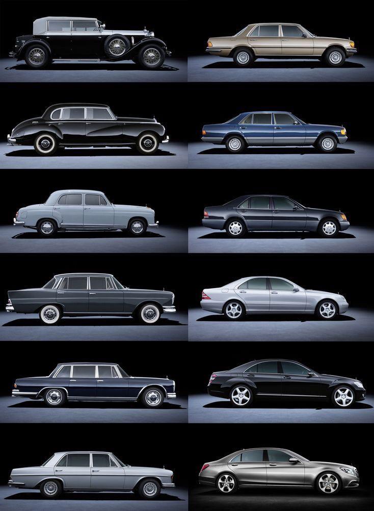 Эволюция автомобилей картинка