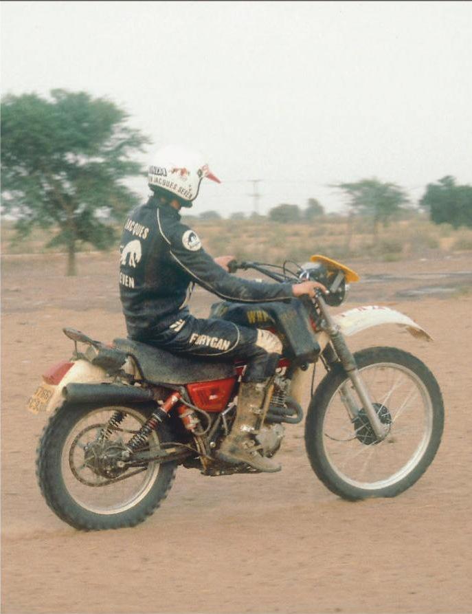 Филипп Вассар сумел заработать бронзу на Honda XL250S