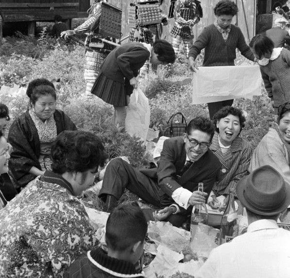 Семейный праздник на свежем воздухе, Префектура Гифу, 1965 год