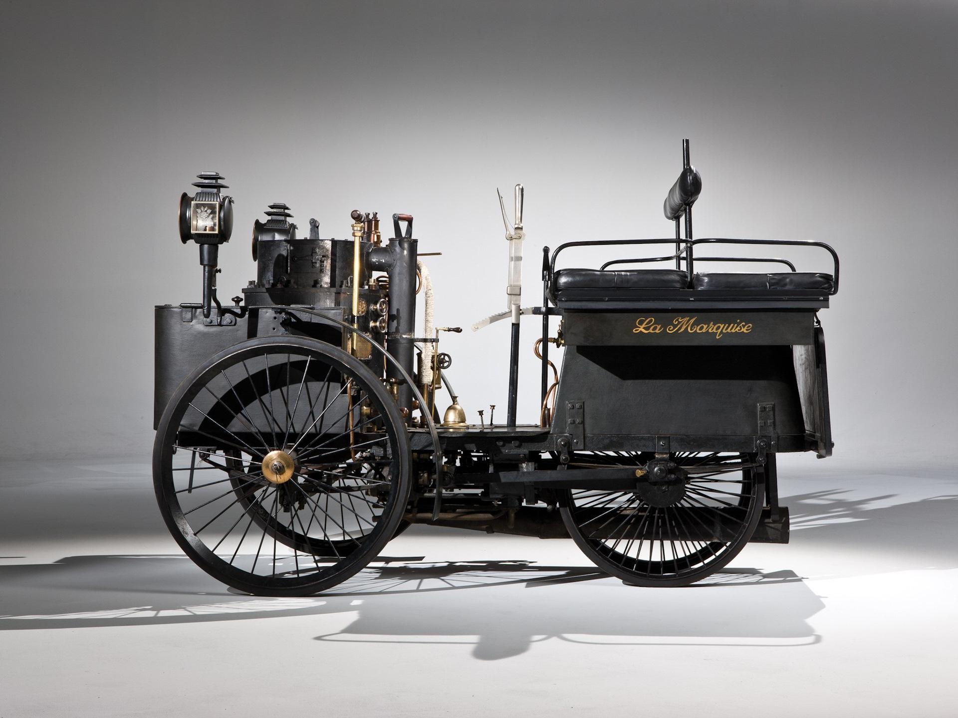 картинка первого автомобиля с паровым котлом продаже загородных