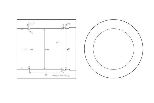 чертеж переделки ступицы шевроле нивы под ивековский подшипник