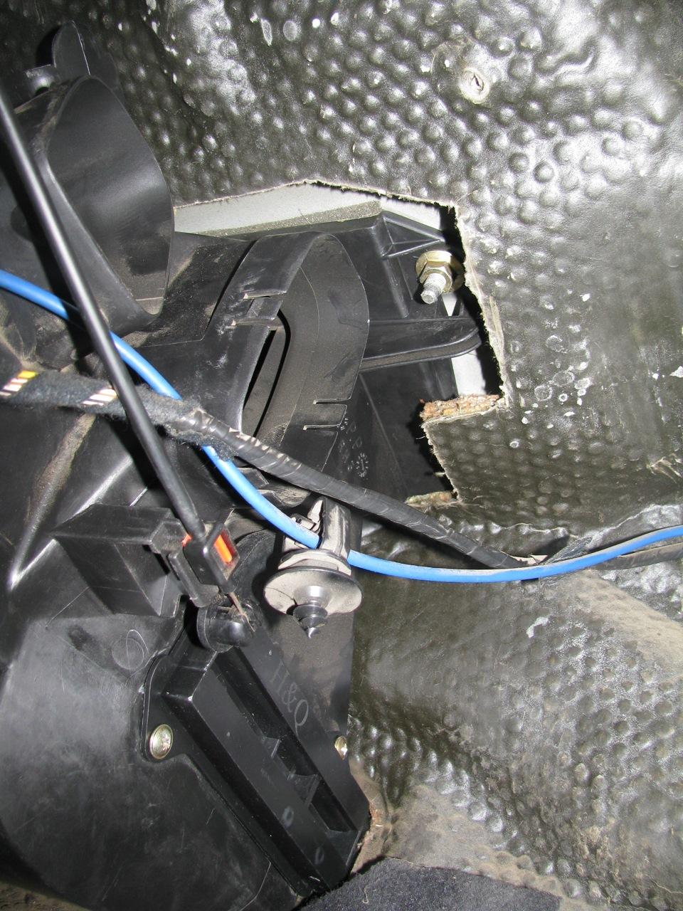 Замена радиатора отопителя форд фокус 2 своими руками