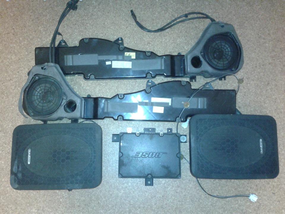 комплекты акустики для audi a6