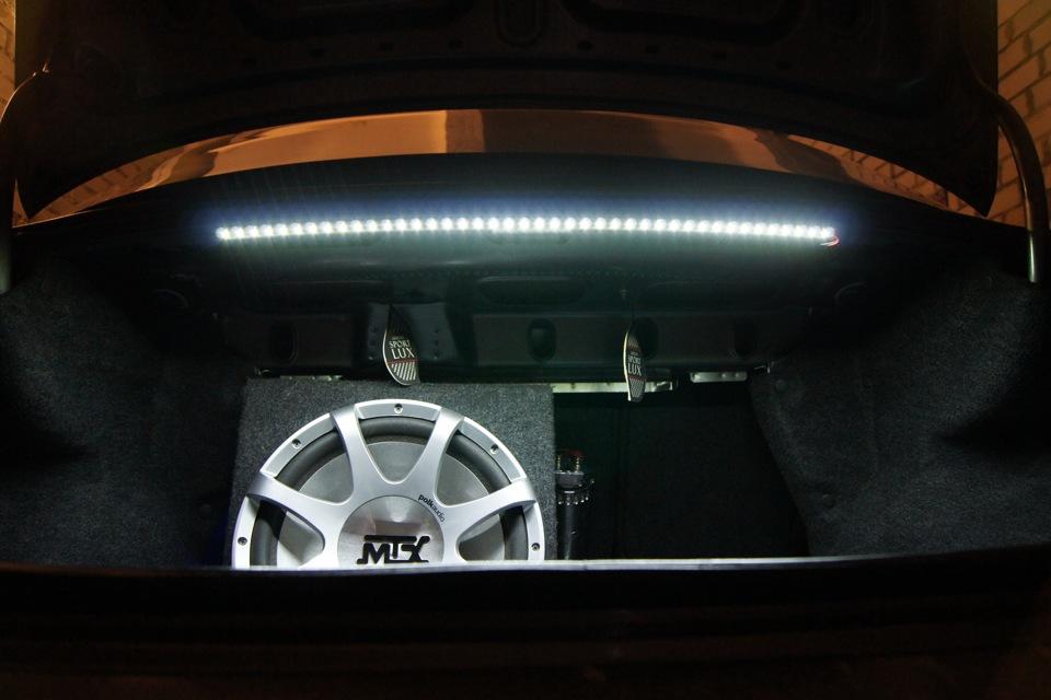 подсветка бардачка на фиат альбеа