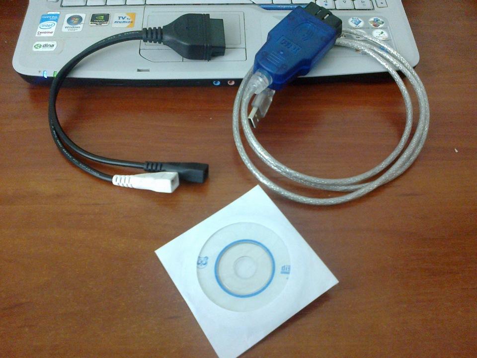 Диагностический кабель VAG COM