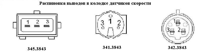 Разъем датчика холла ваз гсамара (в наличии за 3800 руб