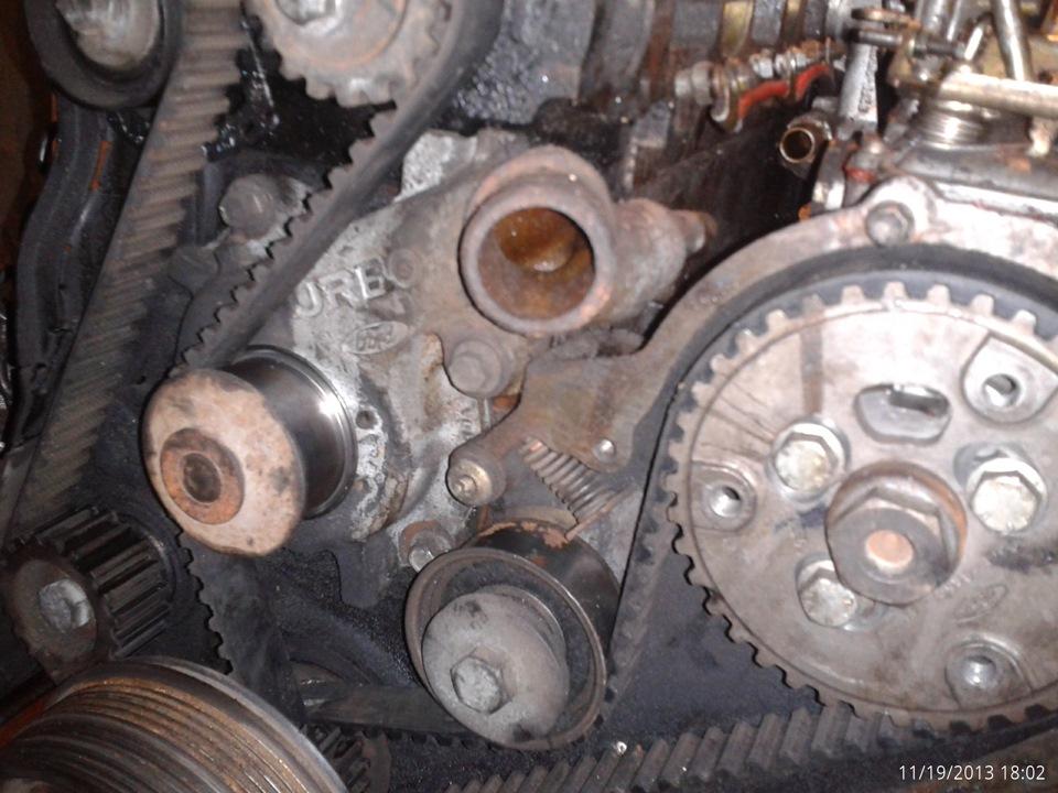 Замена ремня грм форд фокус дизель 1.8