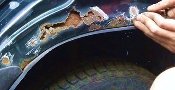 Ремонт кузова автомобиля от ржавчины своими руками