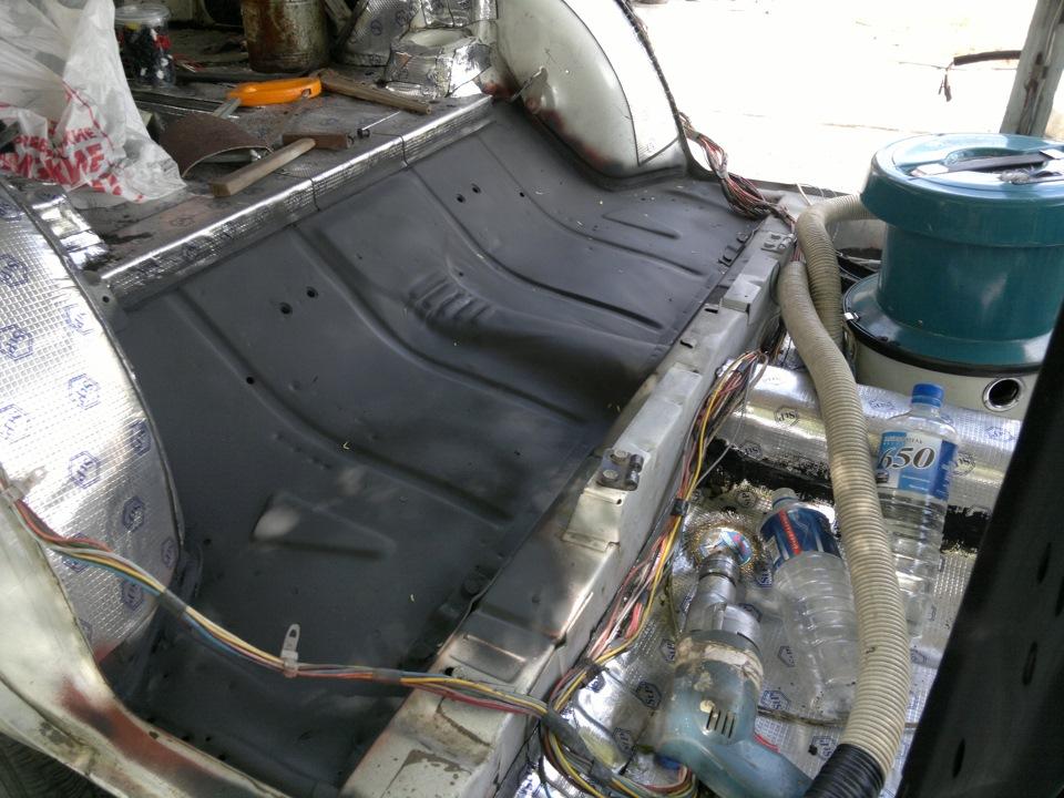 вварить метал в пол авто инструкция