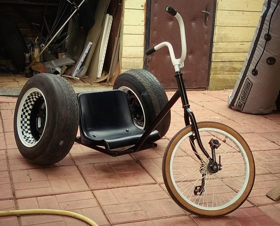 Самодельное ведущее колесо