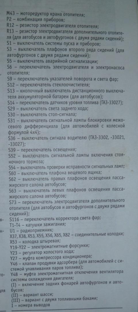 Обозначения к электросхемам #3