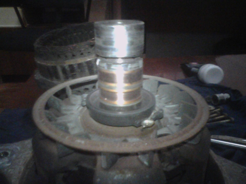 Фото №11 - замена токосъемных колец генератора ВАЗ 2110