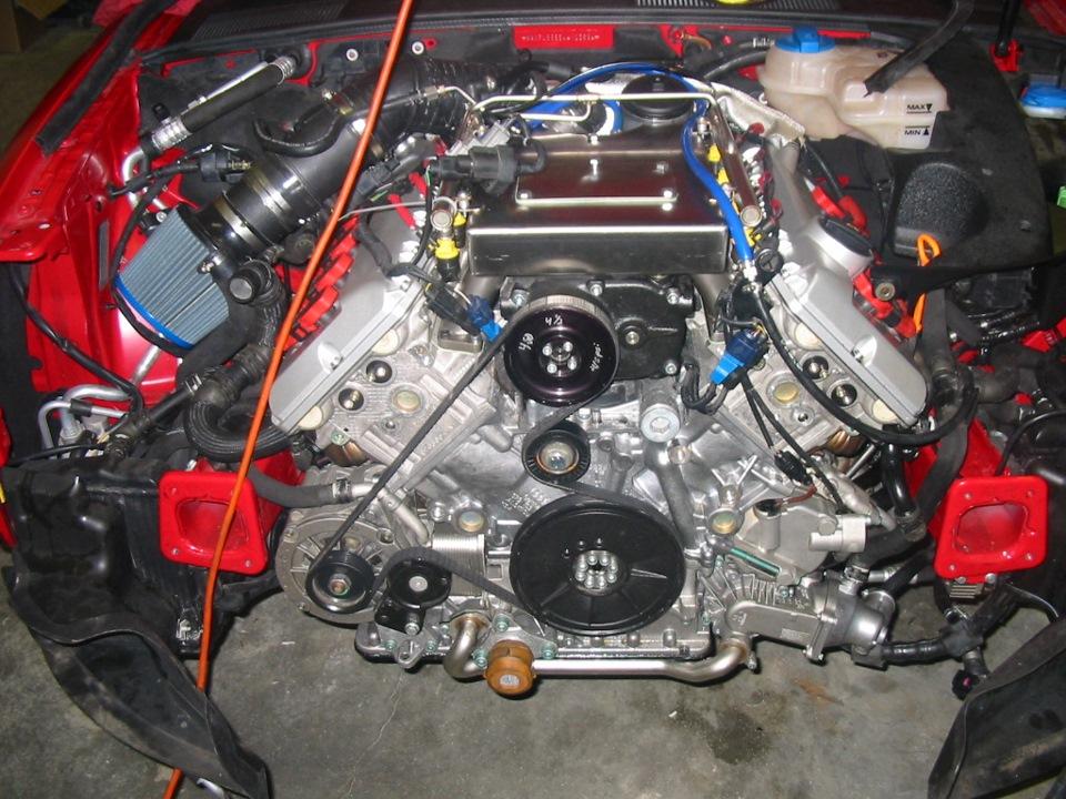 лучший двигатель на audi a4 b7