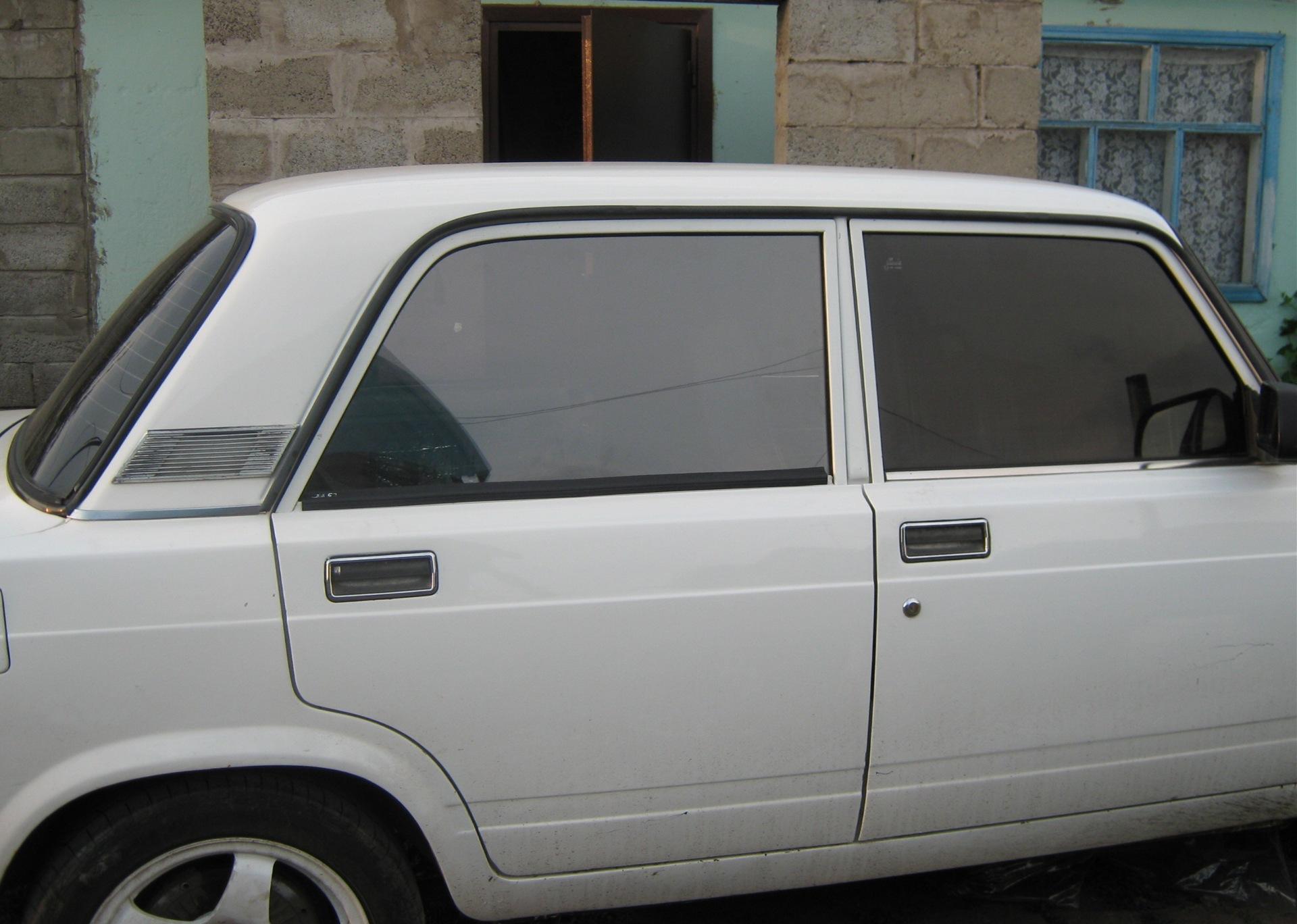 цельные стёкла задних дверей - logbook Lada 2107 посоны поймут 1994 on DRIVE2
