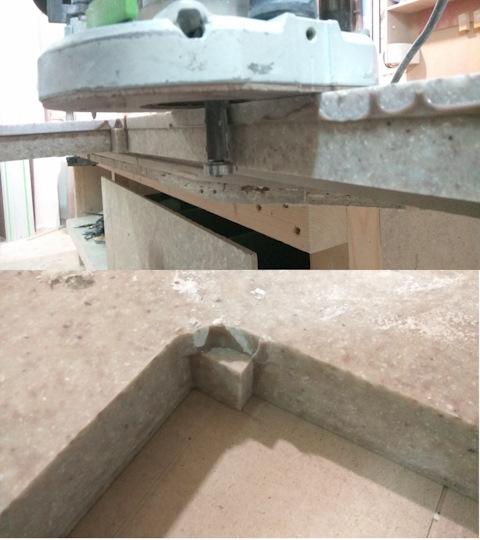 Печь для термоформинга искусственного камня
