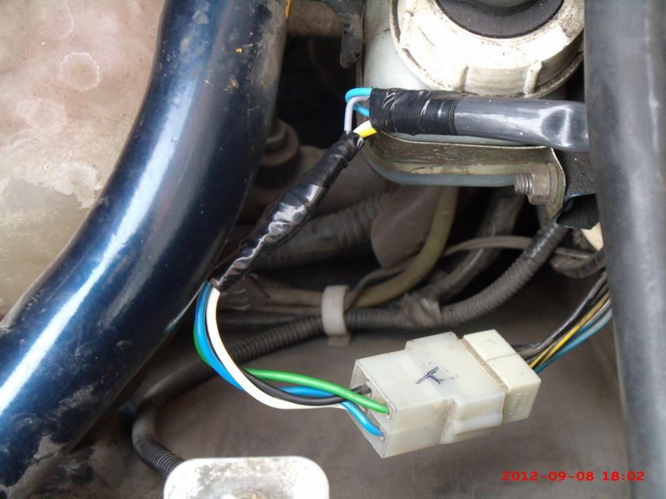 Исправить перепутанные провода дворников на ваз 2108