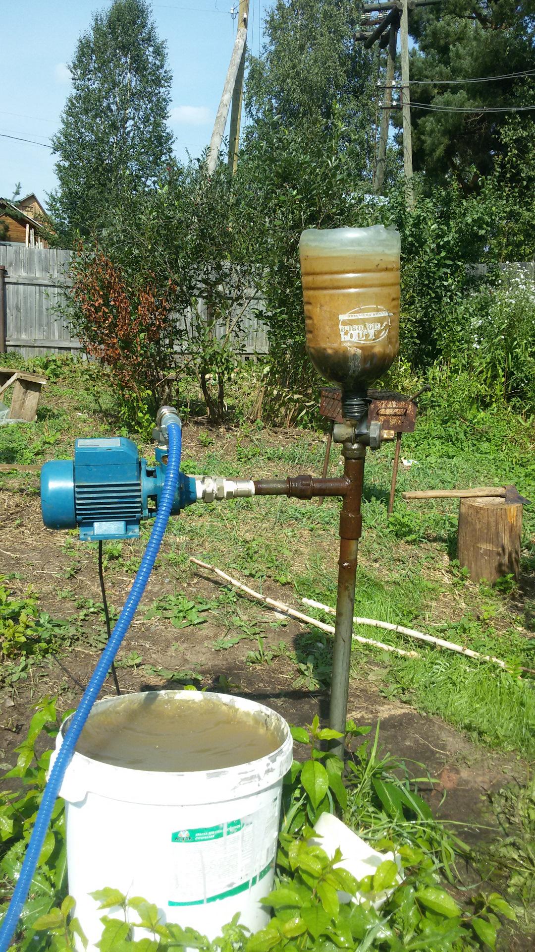 Как сделать скважину из пластиковой трубы фото 978