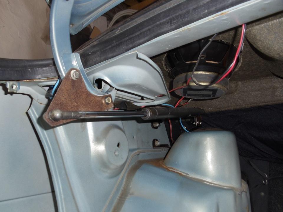 Багажник ваз 21099 своими руками 50